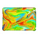 Happy Multicolor Painting Apple iPad Mini Hardshell Case (Compatible with Smart Cover) View1