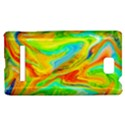 Happy Multicolor Painting HTC 8S Hardshell Case View1