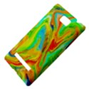 Happy Multicolor Painting HTC 8S Hardshell Case View4