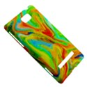 Happy Multicolor Painting HTC 8S Hardshell Case View5