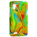 Happy Multicolor Painting HTC Desire VT (T328T) Hardshell Case View2