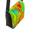 Happy Multicolor Painting Flap Messenger Bag (L)  View2