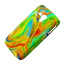 Happy Multicolor Painting Samsung Galaxy Duos I8262 Hardshell Case  View4