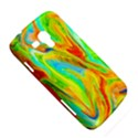 Happy Multicolor Painting Samsung Galaxy Duos I8262 Hardshell Case  View5