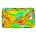 Happy Multicolor Painting Samsung Galaxy Tab 3 (7 ) P3200 Hardshell Case  View1