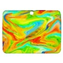 Happy Multicolor Painting Samsung Galaxy Tab 3 (10.1 ) P5200 Hardshell Case  View1