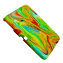 Happy Multicolor Painting Samsung Galaxy Tab 3 (10.1 ) P5200 Hardshell Case  View5