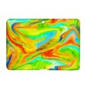 Happy Multicolor Painting Samsung Galaxy Tab 2 (10.1 ) P5100 Hardshell Case  View1