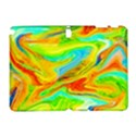 Happy Multicolor Painting Samsung Galaxy Note 10.1 (P600) Hardshell Case View1