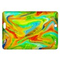Happy Multicolor Painting Amazon Kindle Fire HD (2013) Hardshell Case View1