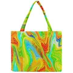 Happy Multicolor Painting Mini Tote Bag