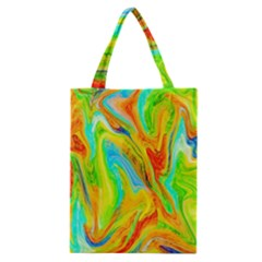 Happy Multicolor Painting Classic Tote Bag