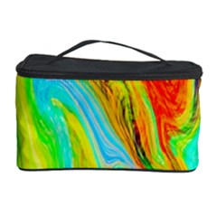 Happy Multicolor Painting Cosmetic Storage Case