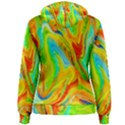 Happy Multicolor Painting Women s Pullover Hoodie View2