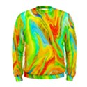 Happy Multicolor Painting Men s Sweatshirt View1