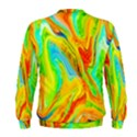 Happy Multicolor Painting Men s Sweatshirt View2