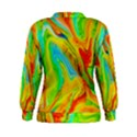 Happy Multicolor Painting Women s Sweatshirt View2