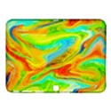 Happy Multicolor Painting Samsung Galaxy Tab 4 (10.1 ) Hardshell Case  View1