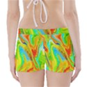 Happy Multicolor Painting Boyleg Bikini Wrap Bottoms View2