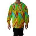 Happy Multicolor Painting Hooded Wind Breaker (Kids) View1