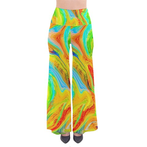 Happy Multicolor Painting Pants