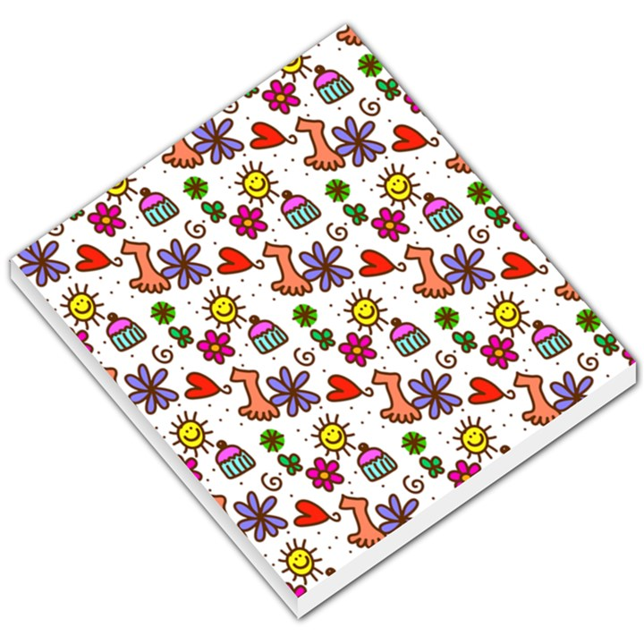 Doodle Pattern Small Memo Pads
