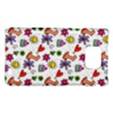 Doodle Pattern Samsung Galaxy S2 i9100 Hardshell Case  View1