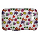Doodle Pattern HTC Wildfire S A510e Hardshell Case View1