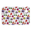 Doodle Pattern Samsung Galaxy Tab 7  P1000 Hardshell Case  View1