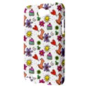 Doodle Pattern Samsung Galaxy Note 2 Hardshell Case View3