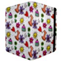 Doodle Pattern Apple iPad 3/4 Flip Case View4
