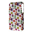 Doodle Pattern Apple iPhone 3G/3GS Hardshell Case (PC+Silicone) View3