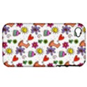 Doodle Pattern Apple iPhone 4/4S Hardshell Case (PC+Silicone) View1