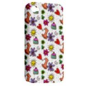 Doodle Pattern Apple iPhone 4/4S Hardshell Case (PC+Silicone) View2