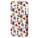 Doodle Pattern Apple iPhone 4/4S Hardshell Case (PC+Silicone) View3