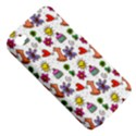 Doodle Pattern Apple iPhone 4/4S Hardshell Case (PC+Silicone) View5