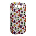 Doodle Pattern Samsung Galaxy S III Classic Hardshell Case (PC+Silicone) View2