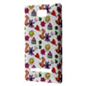 Doodle Pattern HTC 8S Hardshell Case View3