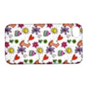 Doodle Pattern Apple iPhone 4/4S Hardshell Case with Stand View1