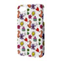 Doodle Pattern Apple iPhone 4/4S Hardshell Case with Stand View3