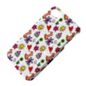 Doodle Pattern Apple iPhone 4/4S Hardshell Case with Stand View4