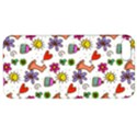 Doodle Pattern Apple iPhone 5 Hardshell Case with Stand View1