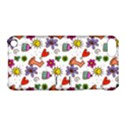 Doodle Pattern Apple iPod Touch 5 Hardshell Case with Stand View1
