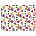 Doodle Pattern Samsung Galaxy Tab 7  P1000 Flip Case View1