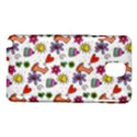 Doodle Pattern Samsung Galaxy Note 3 N9005 Hardshell Case View1