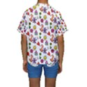 Doodle Pattern Kids  Short Sleeve Swimwear View2