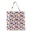 Doodle Pattern Grocery Tote Bag View1