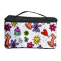 Doodle Pattern Cosmetic Storage Case View1