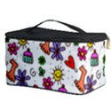 Doodle Pattern Cosmetic Storage Case View3