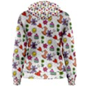 Doodle Pattern Women s Pullover Hoodie View2